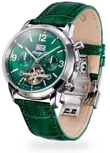 Uhren mit grünem Zifferblatt http://herrenuhren24.net/zifferblattfarbe/gruen/ #uhren #herrenuhren #chronograph