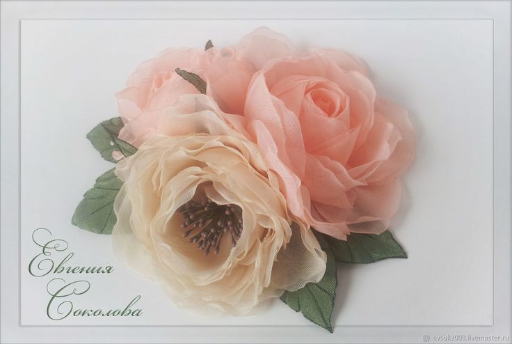Купить Розы Брошь в интернет магазине на Ярмарке Мастеров