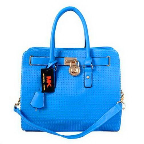 cheap Michael Kors Perforated Large Blue Totes Outlet sales online, save up  to 70% off on the lookout for limited offer, no taxes and free shipping.