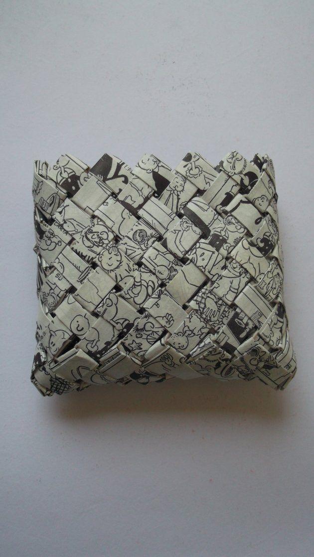 Monederos de papel reciclado y ensamblado de Tienda Bien de Diógenes