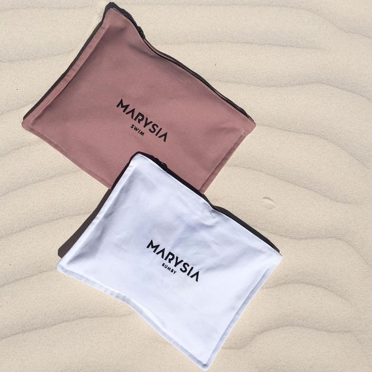 Marysia canvas bag packaging