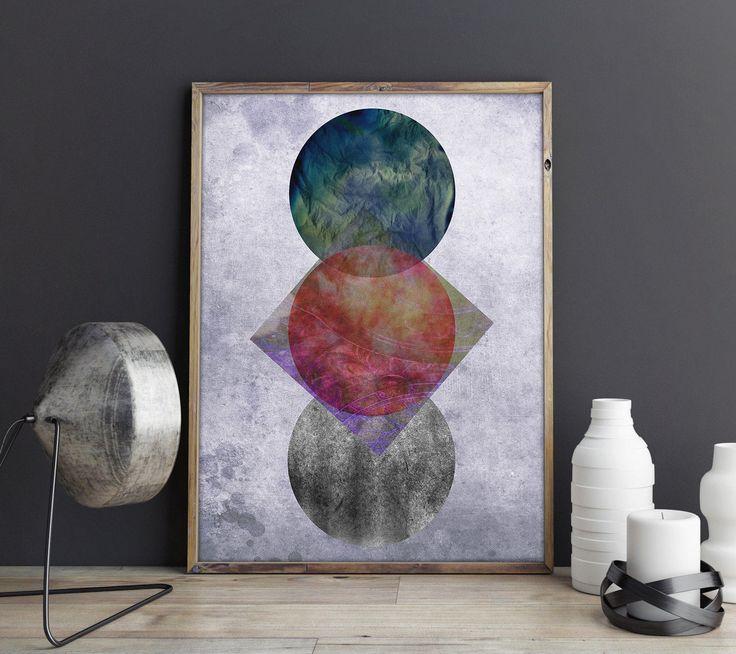 Skandinavischer Kunstdruck, Abstraktes Poster, Skandinavisches Poster, Abstrakte Kunst, Minimalistische Kunst, Digital Print von FineArtHunter auf Etsy