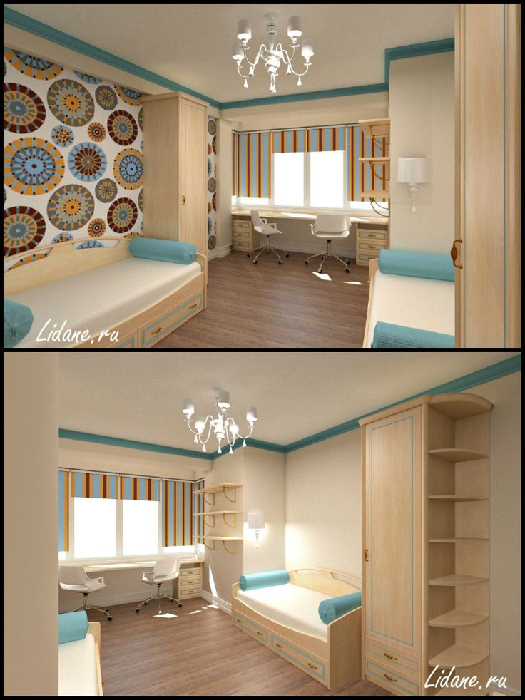 Четырехкомнатная квартира. Детская комната.