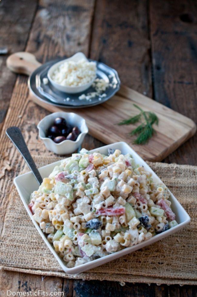 10 summer pasta salads - Greek Pasta Salad