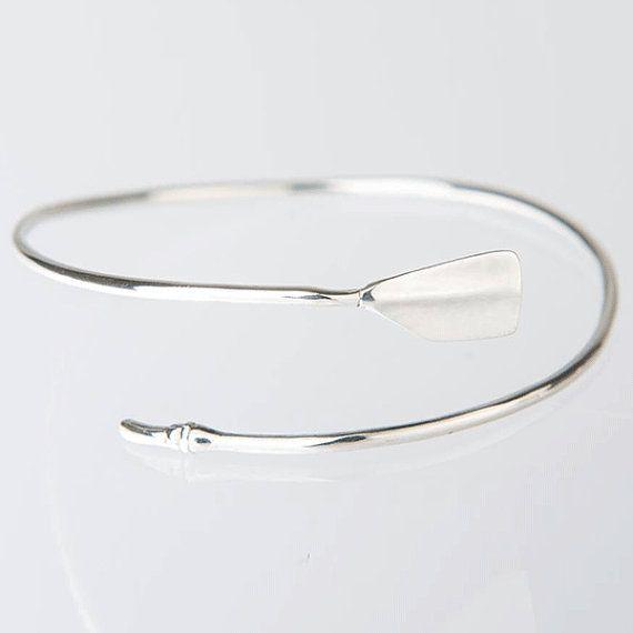 Rowing Jewelry Oar Bracelet Oar Jewelry by StrokesideDesigns