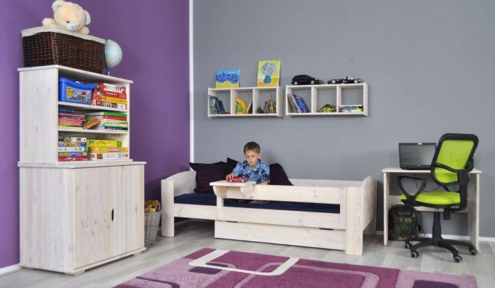 ekologiczne meble sosnowe, modułowe dla dzieci. http://www.seart.pl/lozko-sosnowe-parterowe-junior-j100s-p-3854.html
