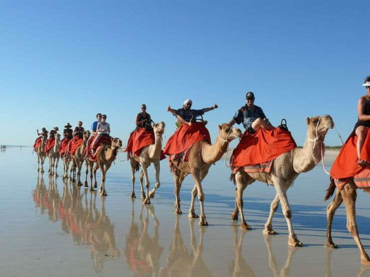 The next two days enjoy free time and all that Broome has to offer! Go for a swim at the stunning Cable Beach, explore China Town and its pearling history, watch a movie at the world's oldest open air cinema or ride a camel on the beach with sunset! Ask your tour guide for any assistance with booking tours. Then check out the cultural variety of eating venues for your lunches and dinners or cook your own at the hostel. We still provide breakfast!