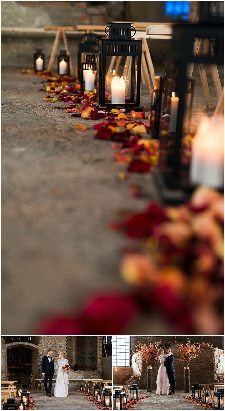 Rustikale, romantische, bunte herbstliche Hochzeits-Inspiration   – Wedding