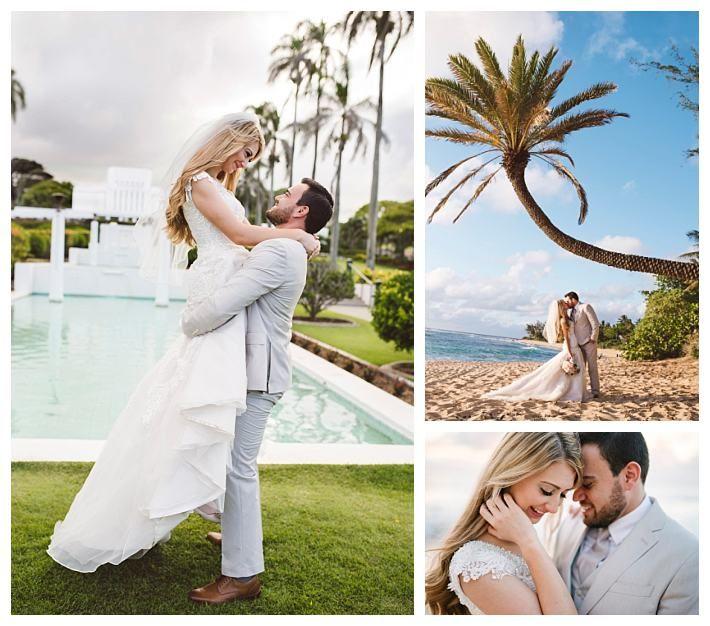 Laie Hawaii Temple Wedding | LatterDayBride | LDS Bride Blog | Gateway Bridal | Destination Wedding | Modest Wedding Dress | Casablanca Bridals | Customized Bridal Gown | Laie Hawaii Temple