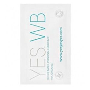 YES Lube Water Based Personal Lubricant Sample 7ml