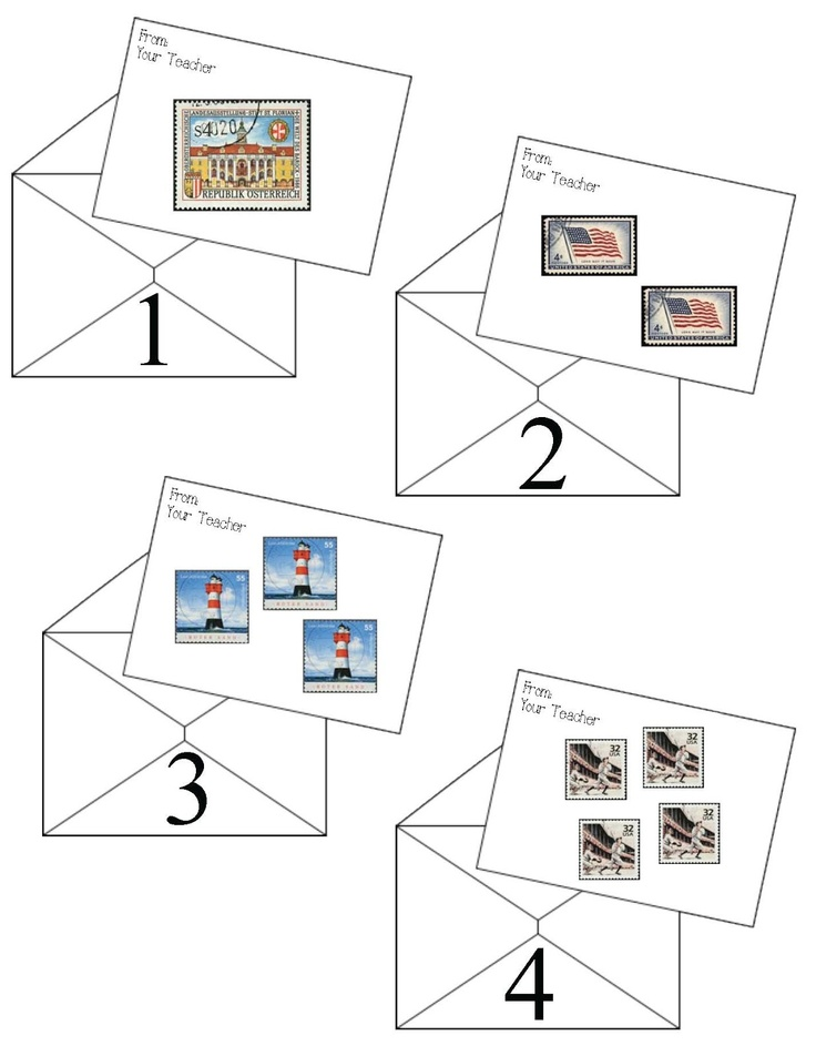 Classroom Freebies: Number Letters