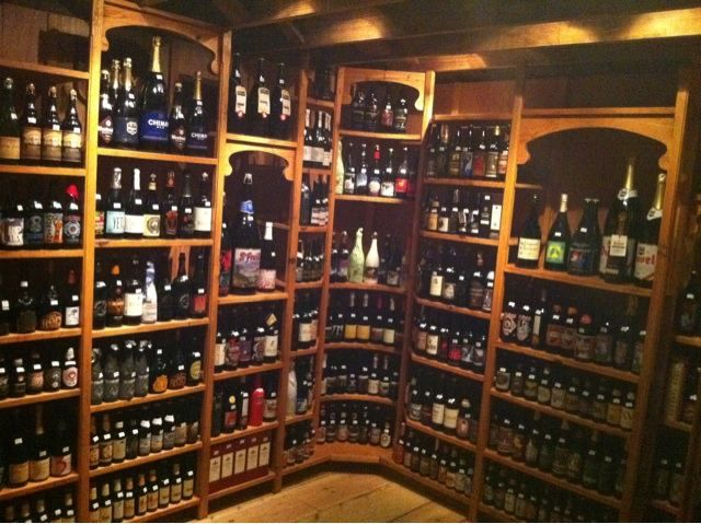 brick store beer cellar on the second floor near the belgium bar decatur beer and pubs. Black Bedroom Furniture Sets. Home Design Ideas