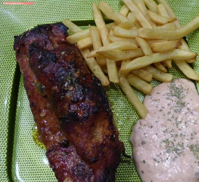fischi`s cooking and more....: ripperl, klassisch vom grill