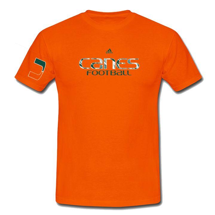 Miami Hurricanes adidas Canes Football Ultimate T-Shirt
