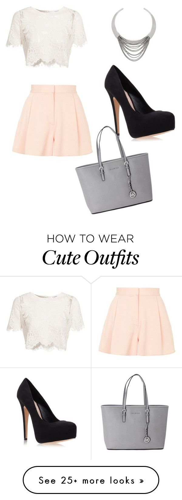 """Cute summer outfit"" by alexisazran on Polyvore featuring moda, Glamorous, Diane Von Furstenberg, Topshop, Carvela Kurt Geiger i Michael Kors"