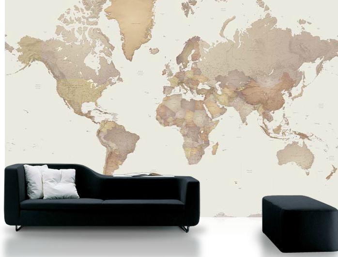 Skal gjøre det samme....eller nesten....verdenskart fra IKEA!