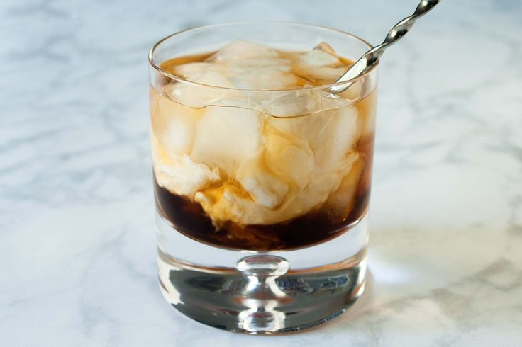 White Russian cocktail made with vodka, coffee liqueur, and coconut milk. Vegan and dairy-free so that all your guests can have a glass!