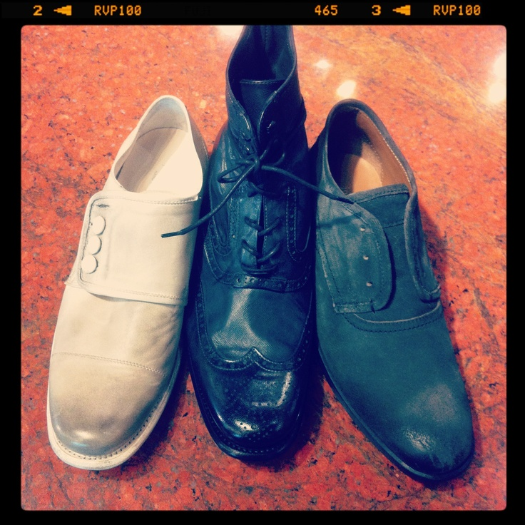 John Varvatos shoes. The ones on the far left are just amazing