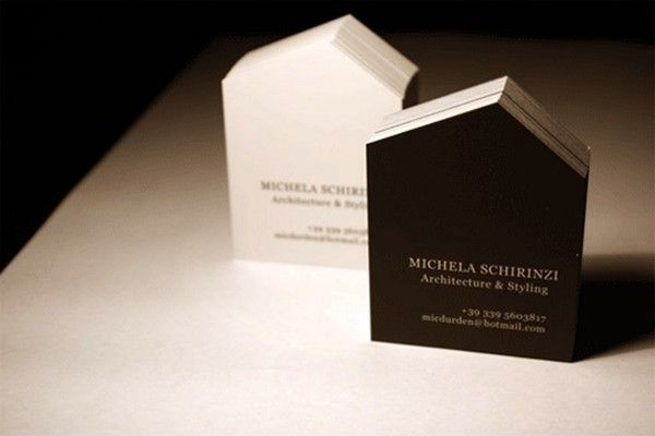 architect business cards 6 40 Architects Business Cards for Delivering Your Message the Creative Way