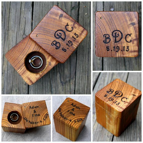 "Ring box. Graham will say ""Oh this is easy, I could make this"" Lizzie say ""True, but will you?"" Graham will then battle his creative and self reliant nature with reality."