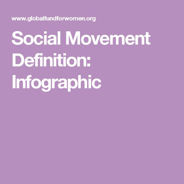 Social Movement Definition: Infographic