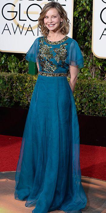 Calista Flockhart | Golden Globe Awards 2016: Arrivals