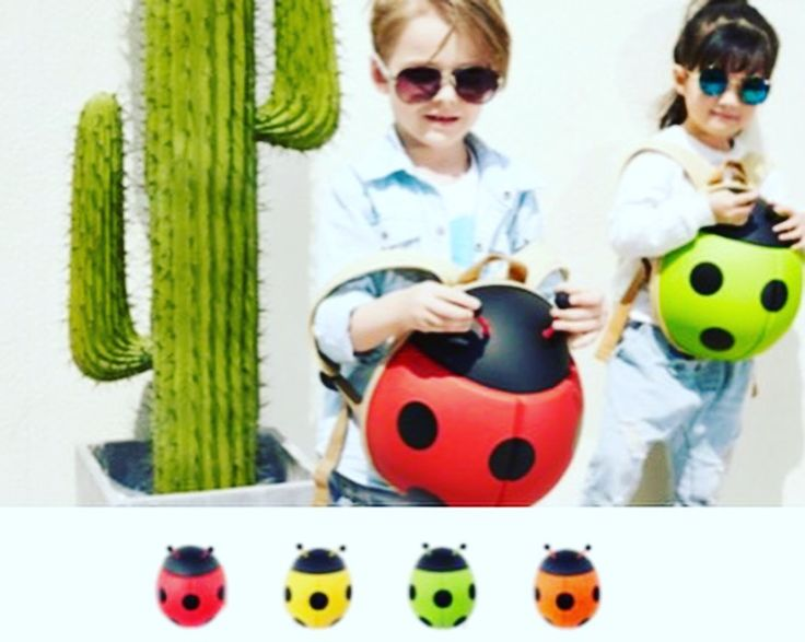 Prepare your kids for a walk, for nursery or kindergarten with the new 3D ladybug backpack. Designed for kids age 2+.  #bizzandbee #backpack #kidsbackpack #kids #children #kidsaccesories #cutebackpack #cute #ladybugbackpack #ladybug  #kidsgift #gift #specialgift