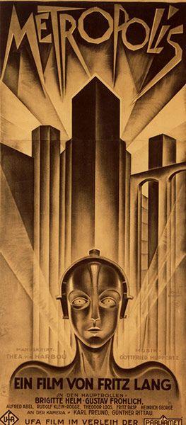 Top Selling Film Posters: Top Selling Film Posters - Metropolis (German Poster), 1927