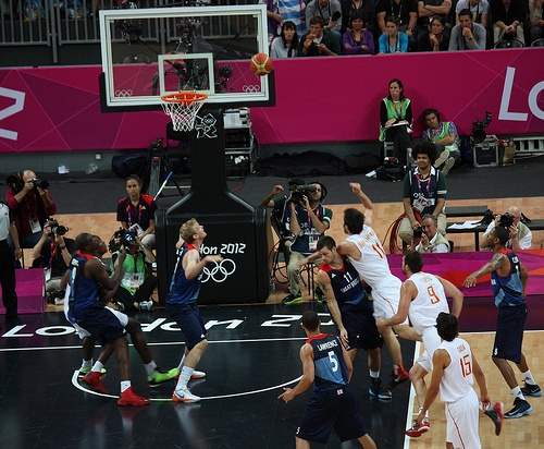 http://uk.mycityportal.net - Great Britain vs Spain - London 2012 Olympics Basketball
