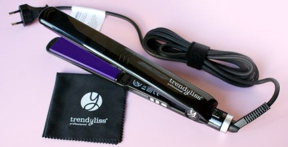 Fer à lisser Trendyliss Luxury Purple.AVEZ-VOUS DÉJÀ PENSÉS A UTILISER LE LISSEUR PROFESSIONNEL ?