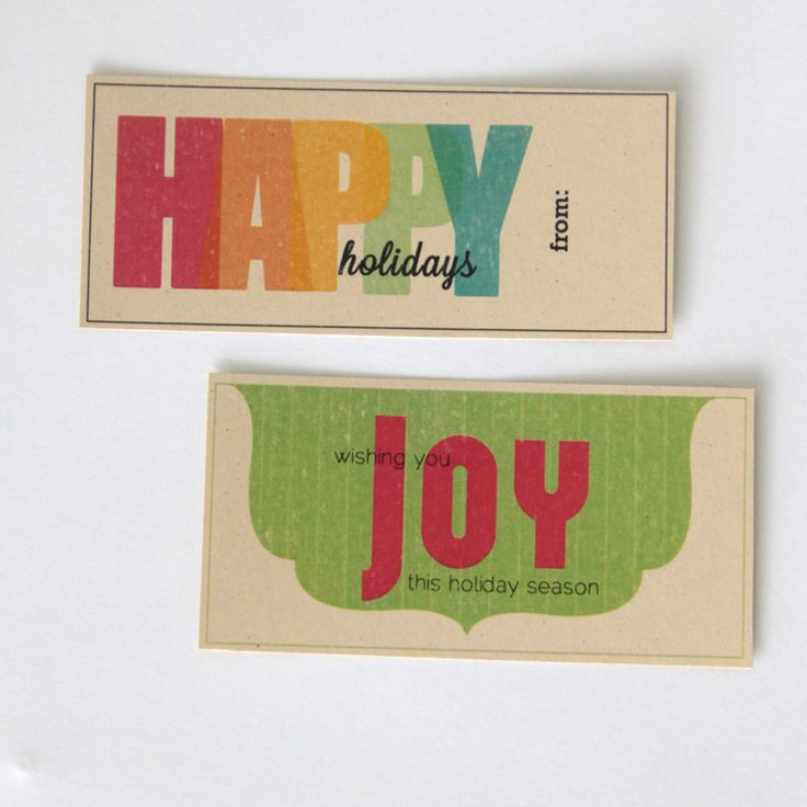 free printable gifttags from it's always autumn