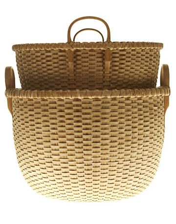 Decorative Storage Baskets - Wicker and Woven Decorative Baskets - House Beautiful