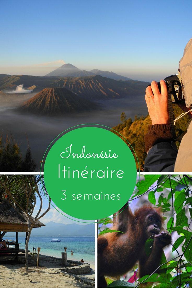 3 semaines en Indonésie - Itinéraire