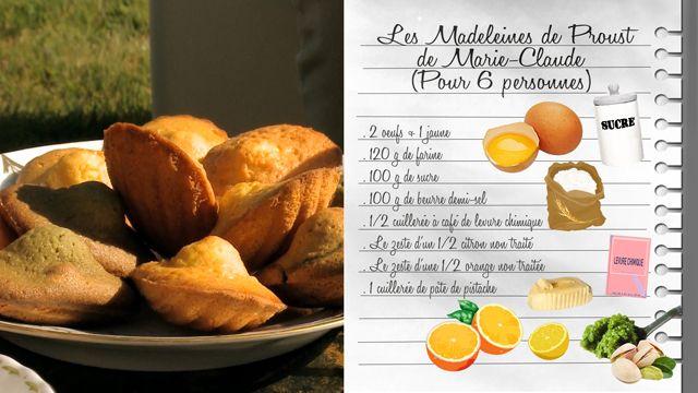 Les madeleines de Proust de Marie-Claude- Les Carnets de Julie - France 3
