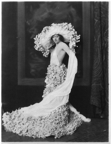 c. 1920s VINTAGE Photo High Fashion Model by ALFRED CHENEY JOHNSTON