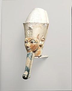 Head from an Osiride Statue of Hatshepsut
