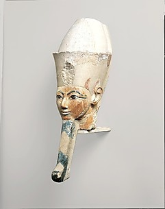 Head from an Osiride Statue of Hatshepsut, ca. 1473-1458 B.C.