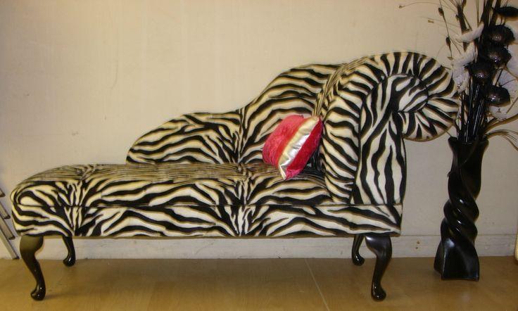 Animal Print Chaise Lounge #chaise #lounge #animalprint # ...