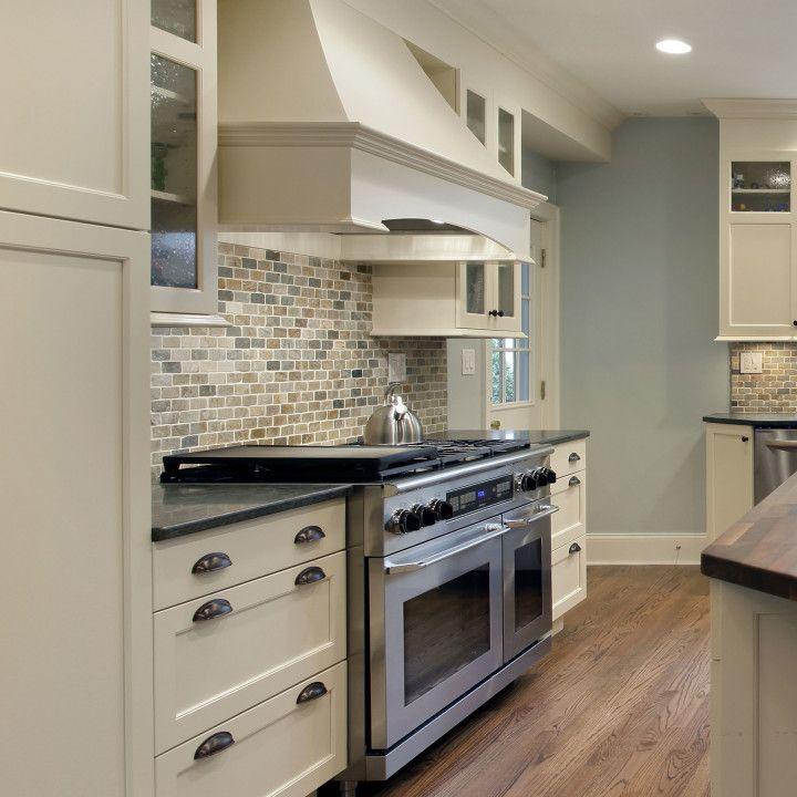 Off white kitchen design idea. www.prasadakitchens.com