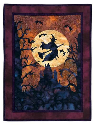 I love this quilt - Image Detail for - Life & Times of Lady Val: Another Halloween Quilt