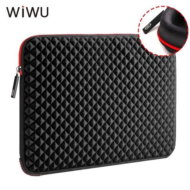 Wiwu 13 3 15 6 17 17 3 Inch Laptop Sleeve Waterproof Shockproof Diamond Skin Notebook Case Bag For Macbook Pro Xiaomi Air 13 15 Notebook Tasche Macbook Laptop