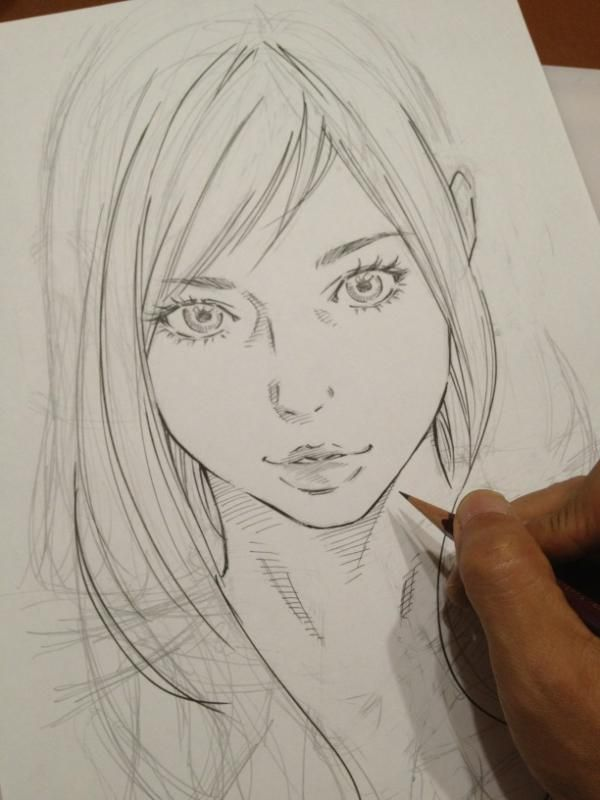 Anime Characters Realistic : Best images about semi realistic anime on pinterest