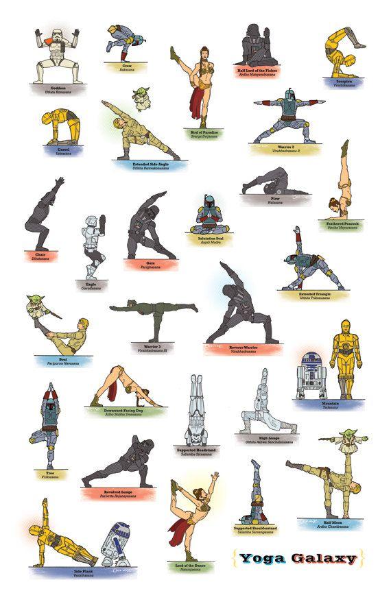 star wars yoga