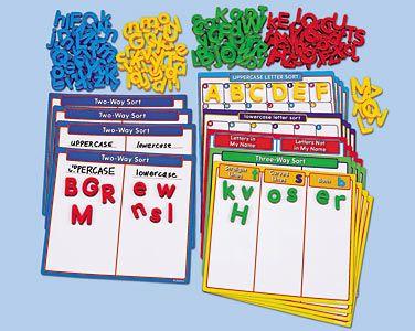writing Alphabet Sorting Kit at Lakeshore Learning