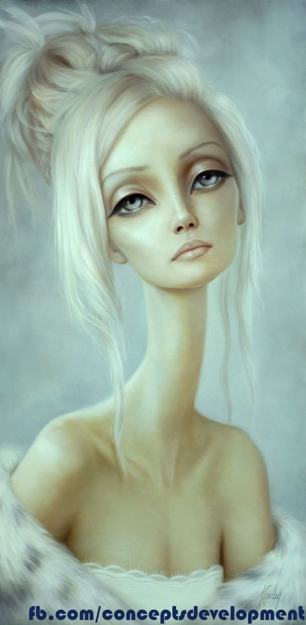 The beauty has....Artists, Lori Earley, Art Blog, Loriearley, Art Inspiration, Illustration, Lori Ears, Long Neck, Painting