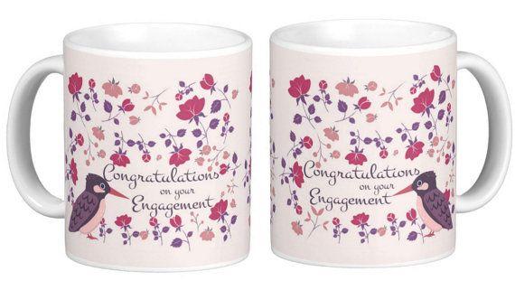 Engagement Congratulations Gift Mug Keepsake