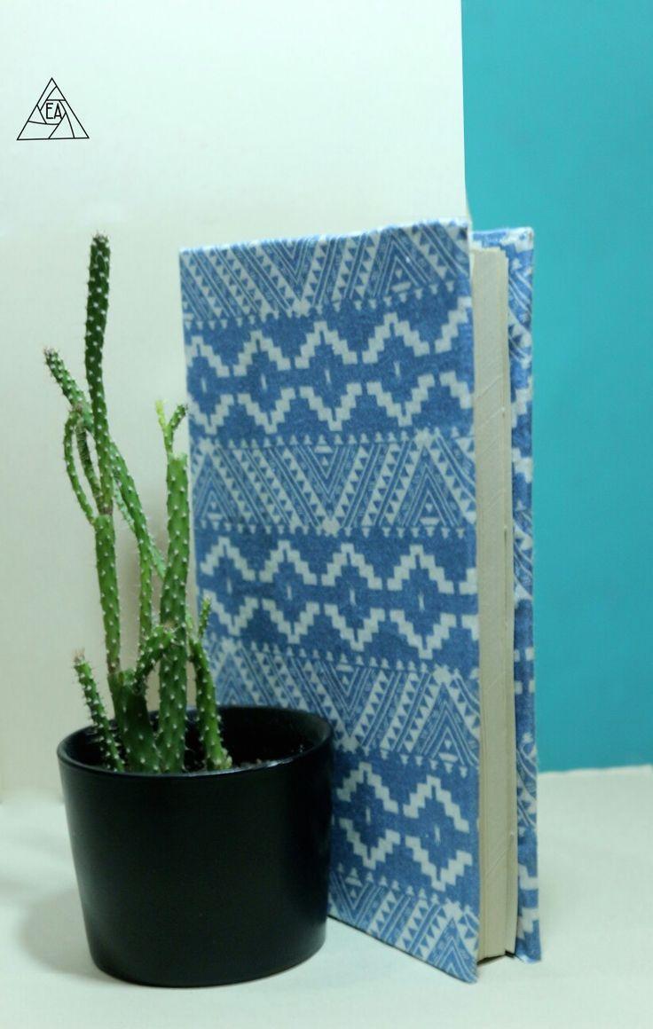 #encuadernamiento #Book #captus #patrones #Blue