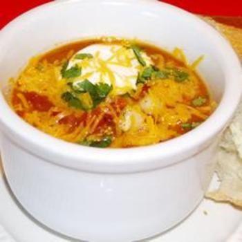 Taco Soup II Allrecipes.com--Easy Taco Soup recipe ready in less than an