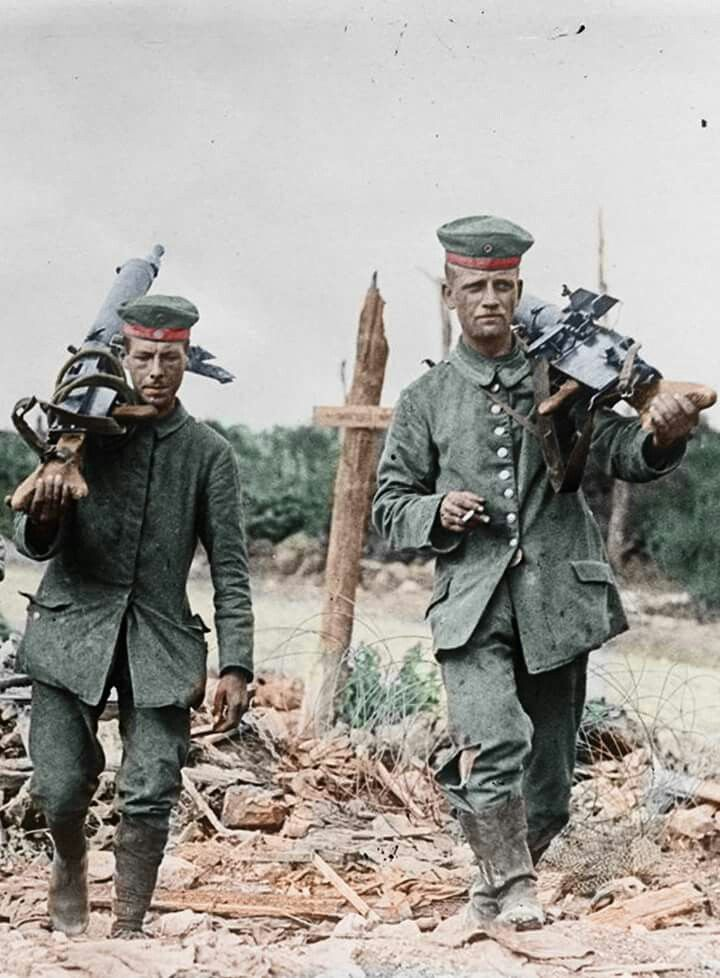 German machinegunners