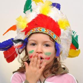 Kinder-Geburtstagsparty für kleine Indianer